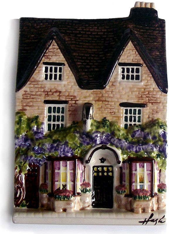 has also been painted as a cottage hospital